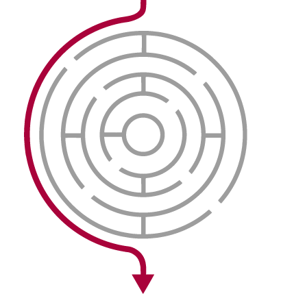 Imagem de um labirinto qmatic